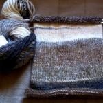 photo tricot modèle tricoter debutant une echarpe