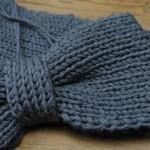 photo tricot modèle tricoter debutant une echarpe 17