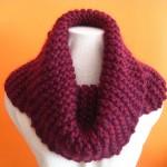 photo tricot modèle tricoter debutant une echarpe 5