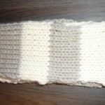 photo tricot modèle tricoter debutant une echarpe 9