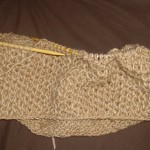 photo tricot modèle tricoter nid d abeille le point 10