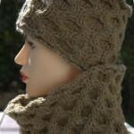 photo tricot modèle tricoter nid d abeille le point 14