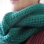 photo tricot modèle tricoter nid d abeille le point 15