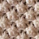 photo tricot modèle tricoter nid d abeille le point 17