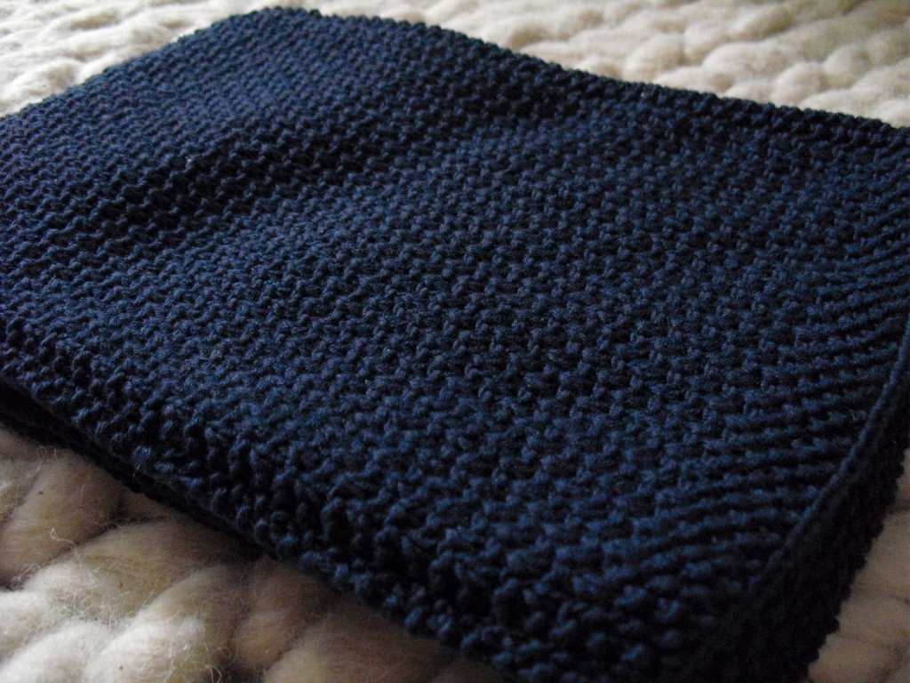 tricoter point de riz