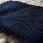 photo tricot modèle tricoter point de riz une écharpe 18