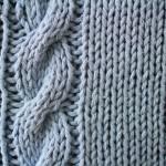 photo tricot modèle tricoter torsade un 7