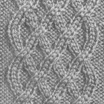 photo tricot modèle tricoter torsade un 8
