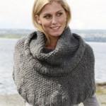 photo tricot modèle tricoter tour de cou circulaires 14
