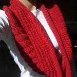 photo tricot modèle tricoter tour de cou circulaires 16
