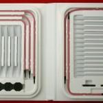 photo tricot modèle tricoter tour de cou circulaires 7