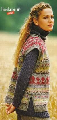 photo tricot modèle tricothèque bdf 14