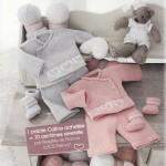 photo tricot modèles tricots bébé gratuits bergère de france 14