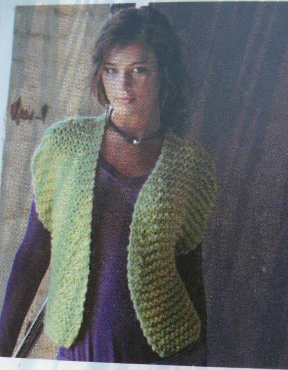 photo tricot modele bolero tricot gratuit bergere de france 14