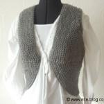 photo tricot modele bolero tricot gratuit bergere de france 3