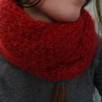 photo tricot modele de snood au tricot 12
