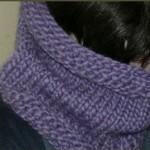 photo tricot modele de snood au tricot 13