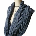 photo tricot modele de snood au tricot 16