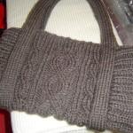photo tricot modele de tricot en torsade 10