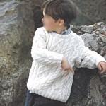 photo tricot modele de tricot en torsade 11