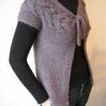 photo tricot modele de tricot en torsade 12