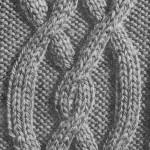 photo tricot modele de tricot en torsade