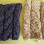 photo tricot modele de tricot en torsade 2