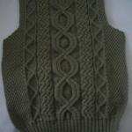 photo tricot modele de tricot en torsade 6