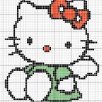 photo tricot modele de tricot hello kitty 12