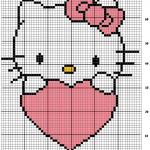 photo tricot modele de tricot hello kitty 15
