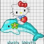 photo tricot modele de tricot hello kitty 16