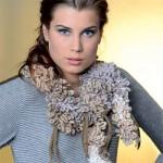 photo tricot modele echarpe tricot gratuit phildar 17