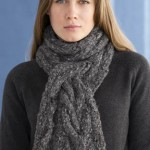 photo tricot modele gratuit tricot echarpe torsade 2