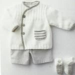 photo tricot modele gratuit tricot layette gilet 12