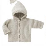 photo tricot modele gratuit tricot layette gilet 14