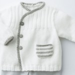 photo tricot modele gratuit tricot layette gilet 9