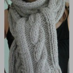 photo tricot modele point tricot torsade 13