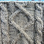 photo tricot modele point tricot torsade 6