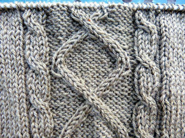 Photo tricot modele point tricot torsade 6 - Comment faire des torsades au tricot ...