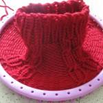 photo tricot modele pour tricotin géant 14