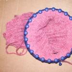 photo tricot modele pour tricotin géant