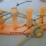 photo tricot modele pour tricotin géant 16