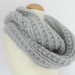 photo tricot modele snood en tricot 11