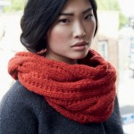 photo tricot modele snood en tricot 16