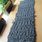 photo tricot modele snood en tricot 2