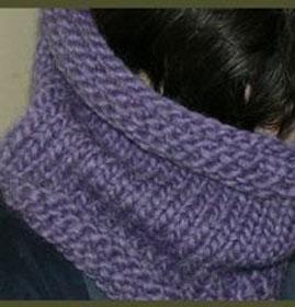photo tricot modele snood en tricot 9