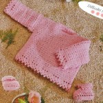 photo tricot modele tricot bebe au crochet 15