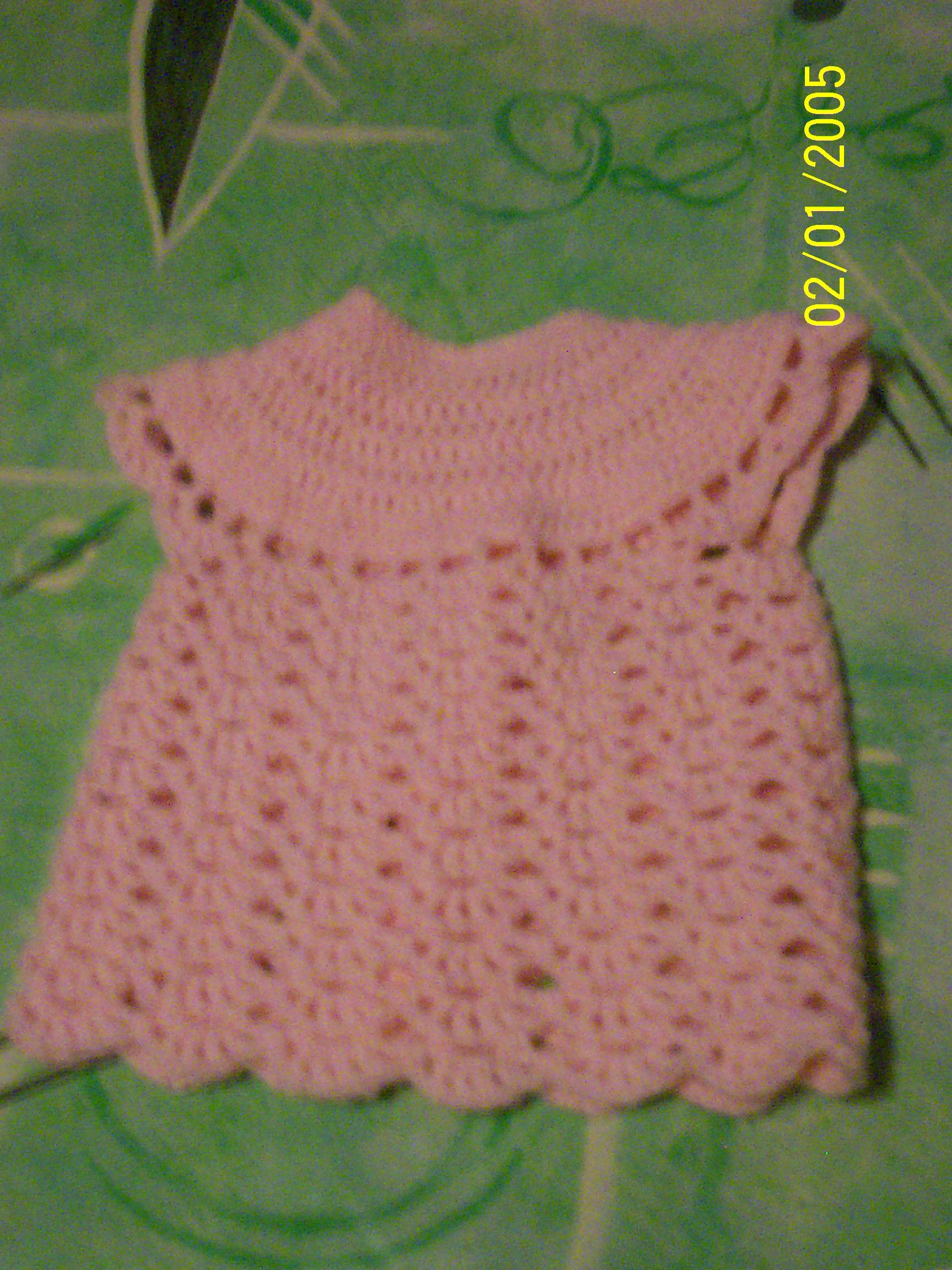 photo tricot modele tricot bebe au crochet 8