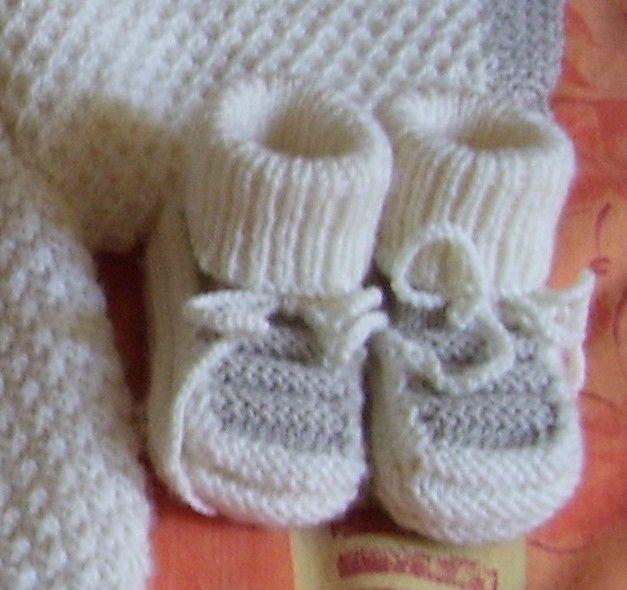 Modele tricot gratuit layette facile - Modele mitaine tricot facile ...