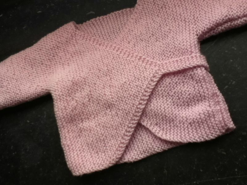photo tricot modele tricot bebe droguerie 15